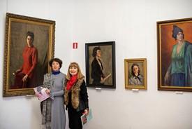 Открытие выставки женского портрета Non-finito