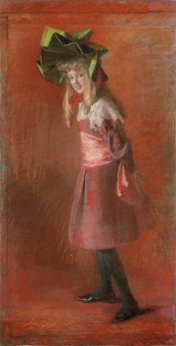 Возвращение после реставрации: М. Эристова «Портрет девочки»