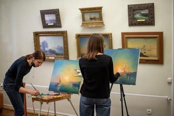 Копийная практика в музее
