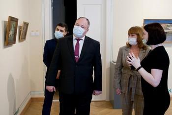 В Краснодаре открылась выставка живописи из собрания Симферопольского художественного музея