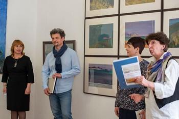 Открылась выставка Эдуарда Кулиша «Из Киммерии в Негев»