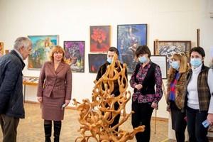 Открытие выставки скульптуры Юрия Сахарова