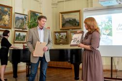 Открылась выставка «От Херсонеса до Санкт-Петербурга.  Дмитрий Слепушкин. Живопись»