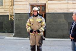Проведены учения по противопожарной защите