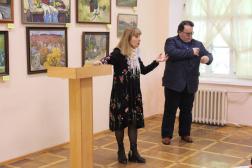 СХМ принял участие в презентации выставки «Крым – глазами художников-сибиряков»