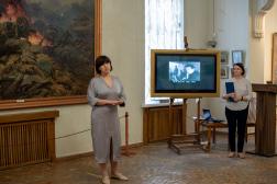 Открытие выставки к 100-летию Ю. В. Волкова «Подвиг души художника»