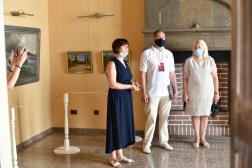 Отчет об открытии выставки «Шедевры классического искусства 19 в.»(Дворец-замок «Ласточкино гнездо»)