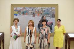 Открылась выставка «Здравствуй, страна героев, страна мечтателей, страна учёных!»