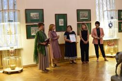 Отчет об открытии выставки «Песни и сказки в русской народной картинке»