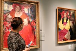 Экспонат СХМ на выставке в Музее русского импрессионизма
