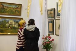 """Отчет об открытии выставки """"Русский импрессионизм"""""""
