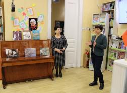 Презентация изданий музея в Детской библиотеке им. В.Н. Орлова