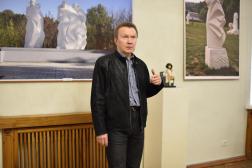 Открытие юбилейной выставки скульптора Сергея Никитина