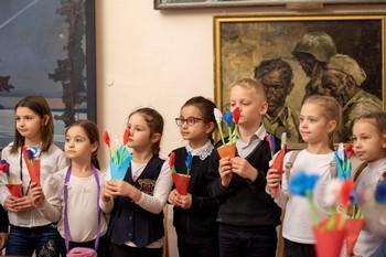 Мастер-класс «В цветах крымского триколора»